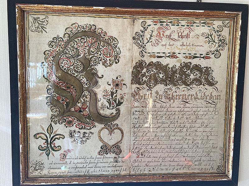 Examen-Schrift 1799